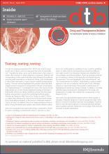 Drug and Therapeutics Bulletin: 50 (4)