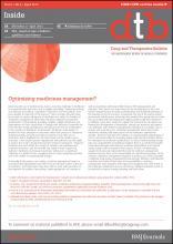 Drug and Therapeutics Bulletin: 51 (4)
