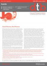 Drug and Therapeutics Bulletin: 51 (8)