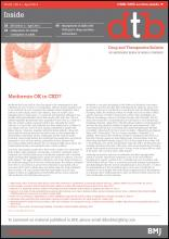 Drug and Therapeutics Bulletin: 52 (4)