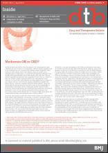 Drug and Therapeutics Bulletin: 52 (4)