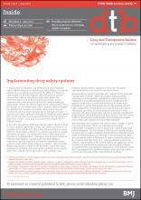 Drug and Therapeutics Bulletin: 52 (6)