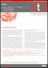 Drug and Therapeutics Bulletin: 53 (1)