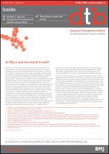 Drug and Therapeutics Bulletin: 53 (7)