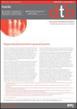 Drug and Therapeutics Bulletin: 53 (9)