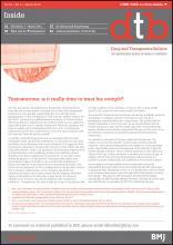 Drug and Therapeutics Bulletin: 54 (3)