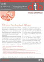 Drug and Therapeutics Bulletin: 54 (4)