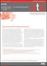 Drug and Therapeutics Bulletin: 54 (6)