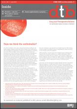 Drug and Therapeutics Bulletin: 54 (7)