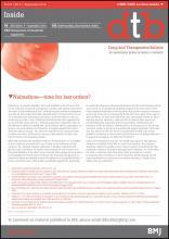 Drug and Therapeutics Bulletin: 54 (9)