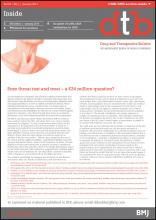 Drug and Therapeutics Bulletin: 55 (1)