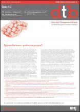 Drug and Therapeutics Bulletin: 55 (2)