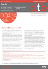Drug and Therapeutics Bulletin: 55 (3)
