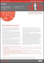 Drug and Therapeutics Bulletin: 55 (3)