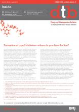 Drug and Therapeutics Bulletin: 55 (4)