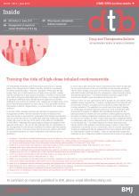 Drug and Therapeutics Bulletin: 55 (6)