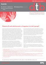 Drug and Therapeutics Bulletin: 55 (9)