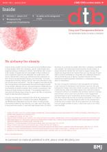 Drug and Therapeutics Bulletin: 56 (1)