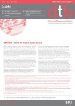 Drug and Therapeutics Bulletin: 56 (4)