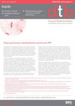 Drug and Therapeutics Bulletin: 56 (5)