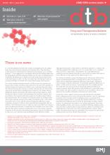 Drug and Therapeutics Bulletin: 56 (6)