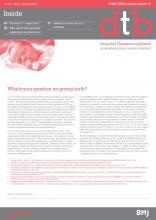 Drug and Therapeutics Bulletin: 56 (8)