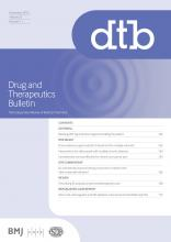 Drug and Therapeutics Bulletin: 57 (11)